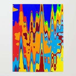 Music Makes Color Dance Poster