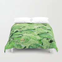 monet Duvet Covers featuring Almost Monet by BRITADESIGNS