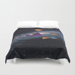 Pizza Heaven Duvet Cover