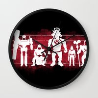 thundercats Wall Clocks featuring Plastic Villains  by powerpig