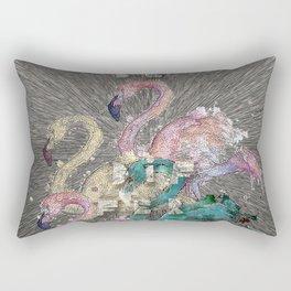 flamingo story Rectangular Pillow