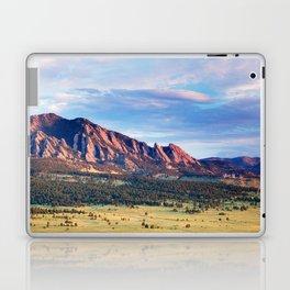 Boulder Colorado Flatirons Laptop & iPad Skin