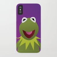 muppets iPhone & iPod Cases featuring Kermit - Muppets Collection by Bryan Vogel