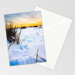 Steps In the Sand Stationery Cards