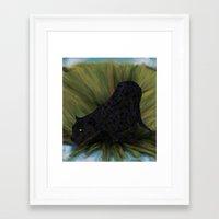 jaguar Framed Art Prints featuring Jaguar by Ben Geiger