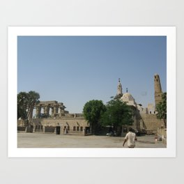 Temple of Luxor, no. 6 Art Print