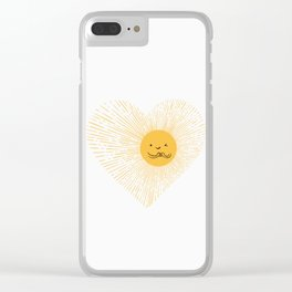 You are the Sunshine of my heart Clear iPhone Case
