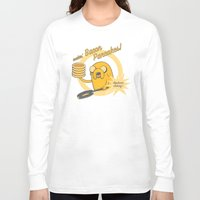 cooking Long Sleeve T-shirts featuring Cooking Time by Perdita