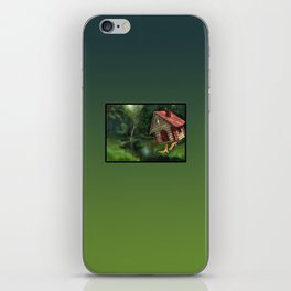 Witch house iPhone Skin