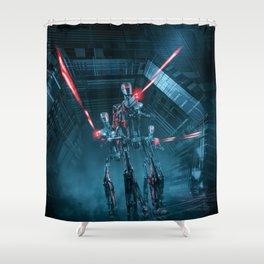The Assault Shower Curtain
