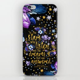 A Court of Mist and Fury - To The Stars iPhone Skin