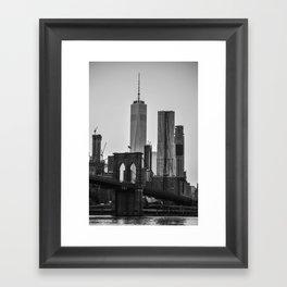 Brooklyn Bridge 4 Framed Art Print