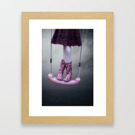 Wellies Framed Art Print