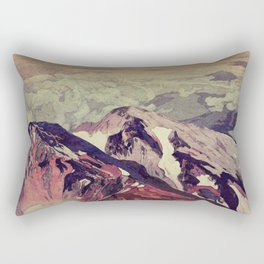 Victory the Climb Rectangular Pillow