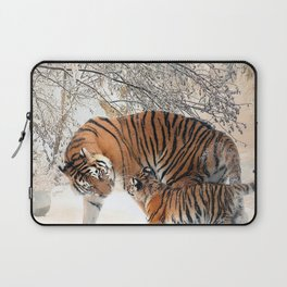 Mother and Child Laptop Sleeve