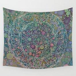 Moody Hipster Mandala Wall Tapestry
