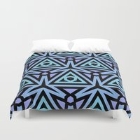 technology Duvet Covers featuring Alien Technology by Lyle Hatch