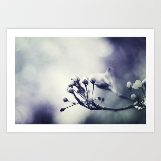 Spring in Black and White III Art Print