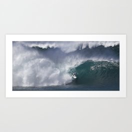 The Art Of Surfing In Hawaii 21 Art Print