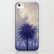 Palm Tree Faith iPhone 5c Slim Case
