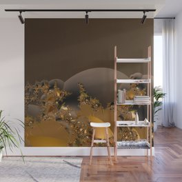 Golden Taste of Chocolates Wall Mural