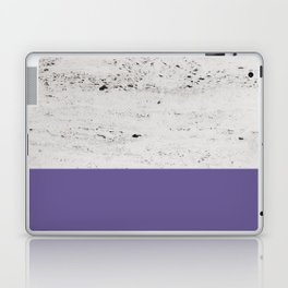 Ultra Violet on Concrete #3 #decor #art #society6 Laptop & iPad Skin