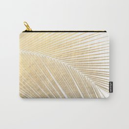 Palm leaf - gold Carry-All Pouch