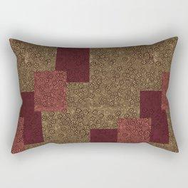 Antique golds over Lapped By Danae Anastasiou Rectangular Pillow