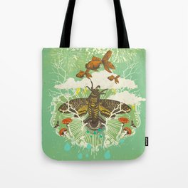 EVENING PSYCHEDELIA Tote Bag