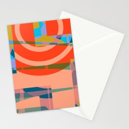 Color graphic fun Stationery Cards