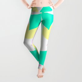 Flamingo vibrant motif Leggings