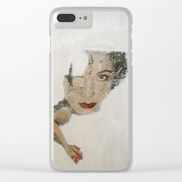 Blind Love Clear iPhone Case