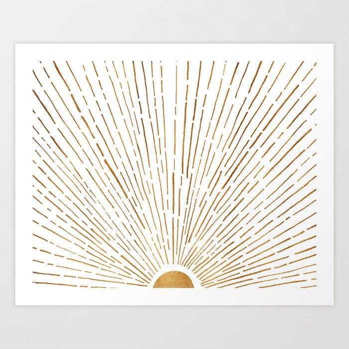 Let The Sunshine In Art Print