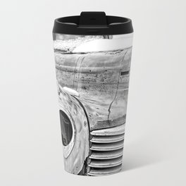 Old Hudson in the Snow Travel Mug
