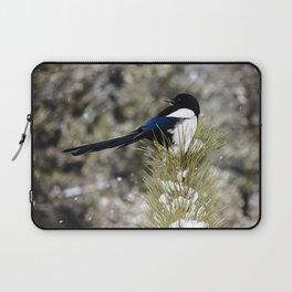 Black-billed Magpie Laptop Sleeve