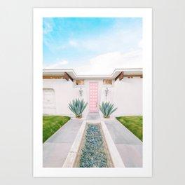 That Pink Door, Again Art Print