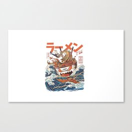 The Great Ramen Canvas Print