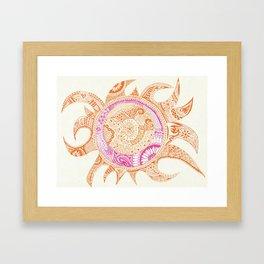 Suntangle Framed Art Print