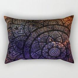 Space mandala 17 Rectangular Pillow