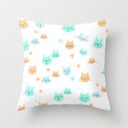 CATS. CATS. CATS! Throw Pillow