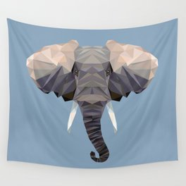 E is for Elephant Wall Tapestry