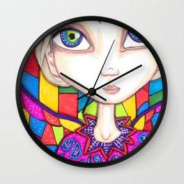 Rainbow Fairy Wall Clock