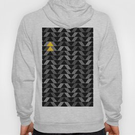 Triangle -Yellow and Grey Hoody