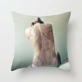Dissection of it All Throw Pillow
