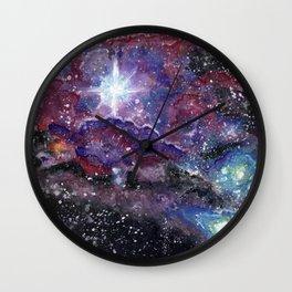 Sagittarious Nebula Wall Clock