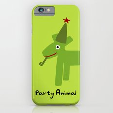 Party Animal-Green Slim Case iPhone 6s