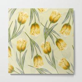 Tulipa pattern 2.2 Metal Print
