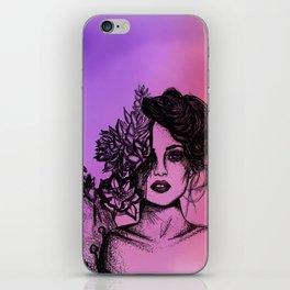 Sunset Succulent Babe | Sunset | Succulents | Cacti | Cactus | Succulent | Portrait | Pink | Orange iPhone Skin