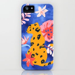 Junge Leopard iPhone Case