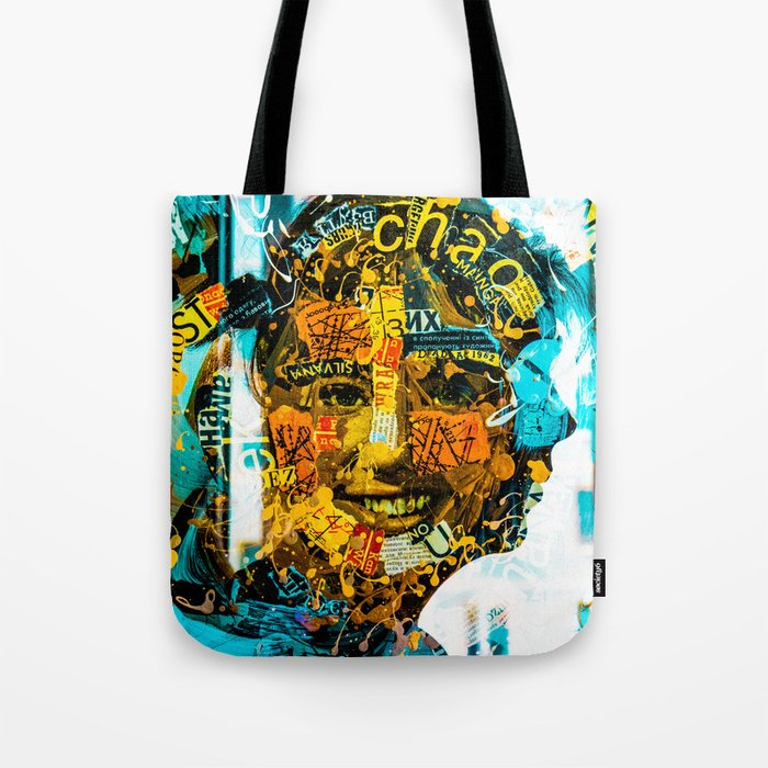 face to face Tote Bag